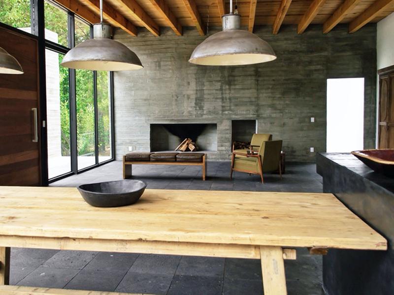 mesas de madera industrial baratas
