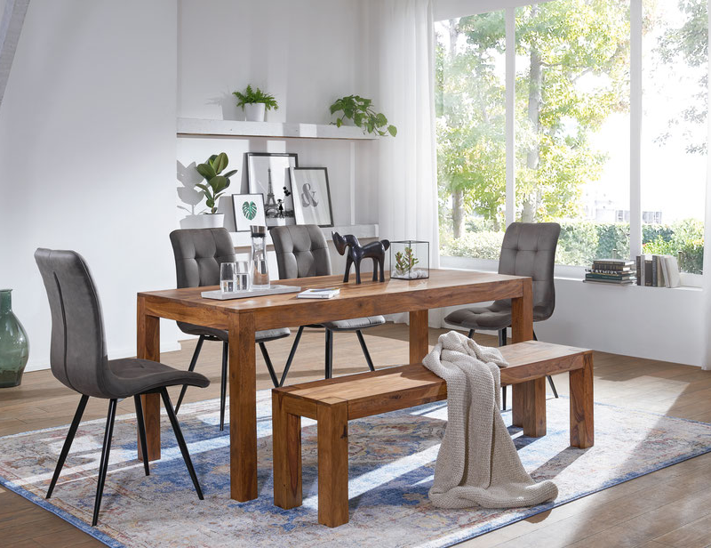mesas de madera alemanas
