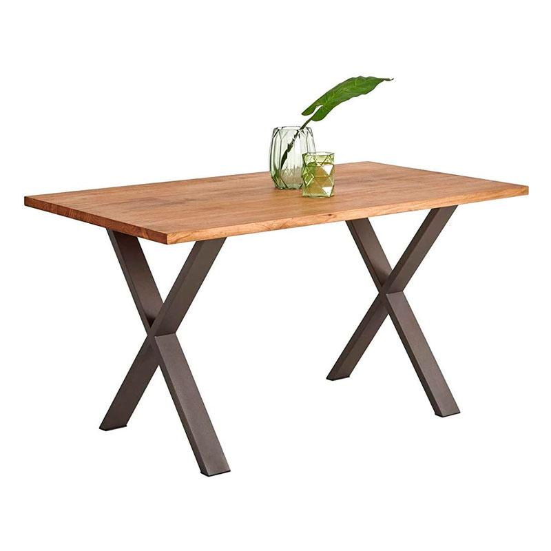 mesa maciza hogar24 patas en cruz