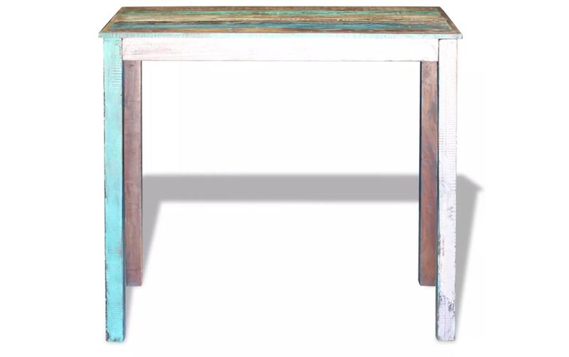 mesa de madera economica rustica
