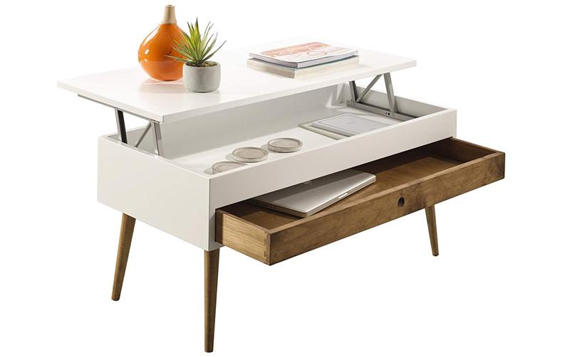 mesa de madera elevable barata