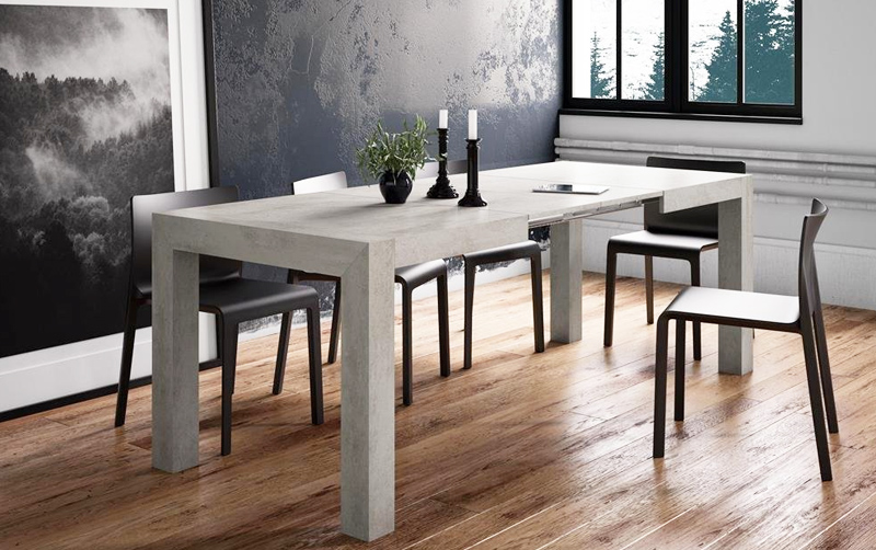 mesa de madera extensible barata