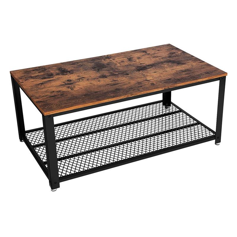 vasagle lct61x madera hierro