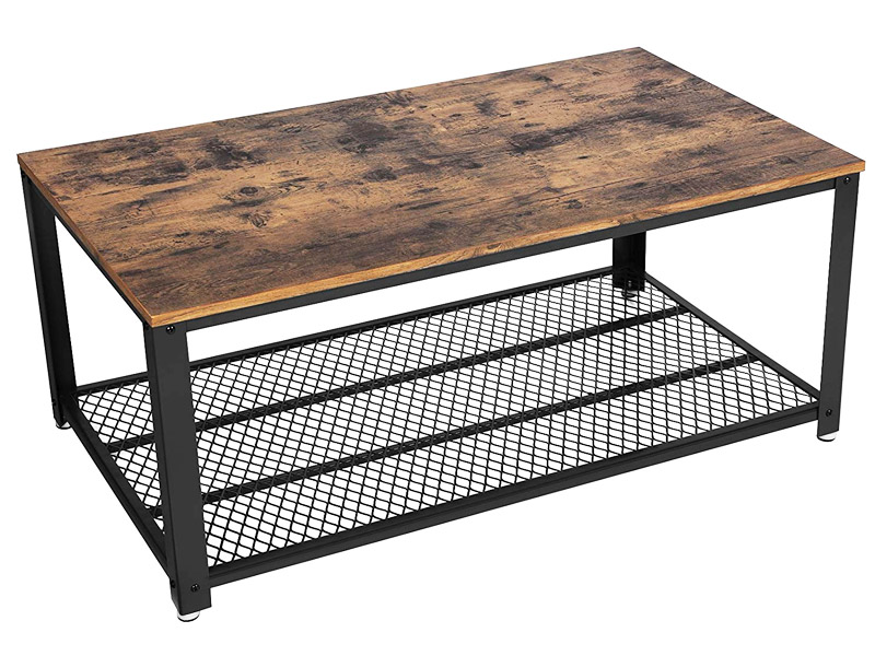 mesa de centro industrial barata