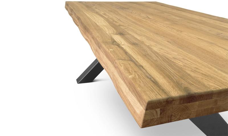 mesa de madera de roble comifort barata