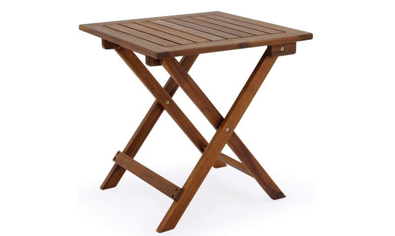 mesa barata para jardin