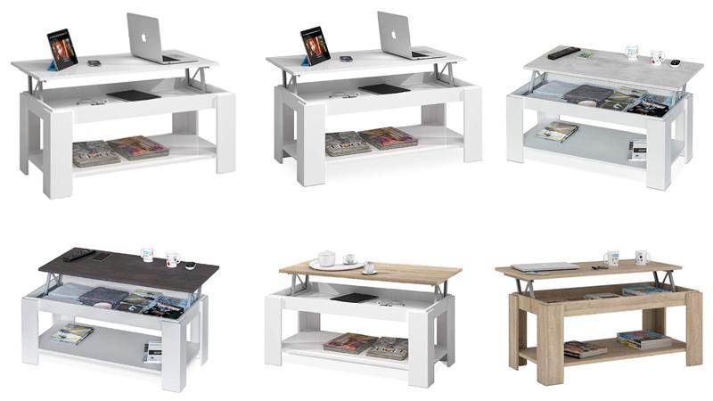 mesa de centro elevable barata habitdesign