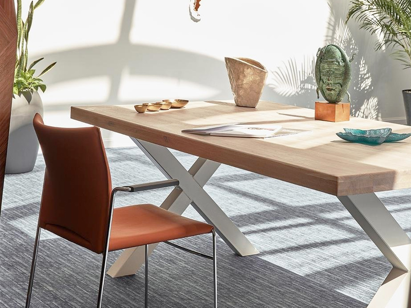 Mesa de madera comifort nrbln blanca barata