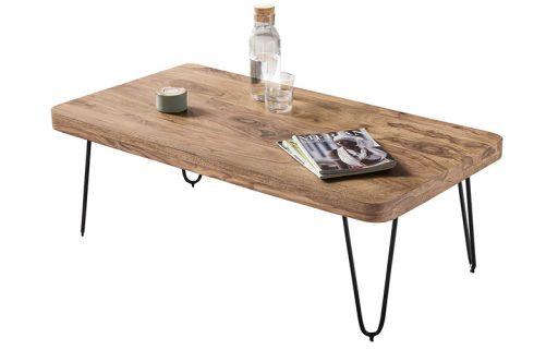 mesa de centro madera maciza barata wohnling