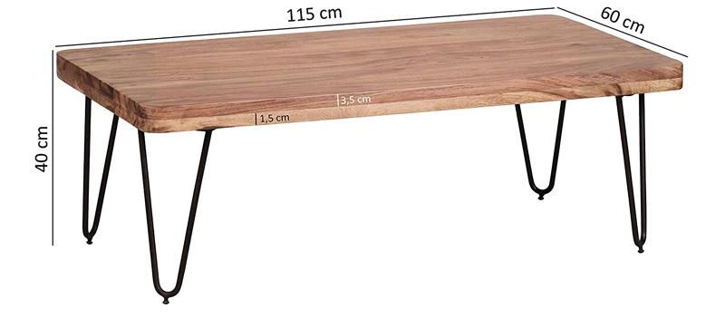 mesa de centro tamano