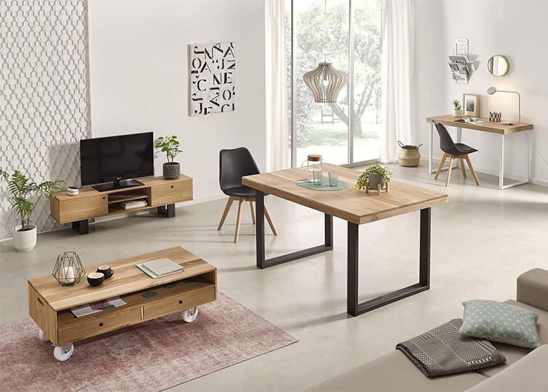 mesas de madera hogar24 baratas