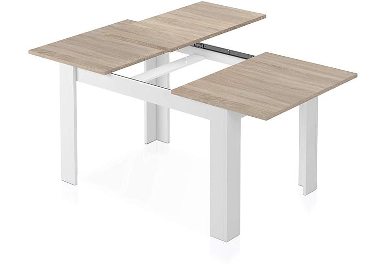 mesa con mecanismo extensible