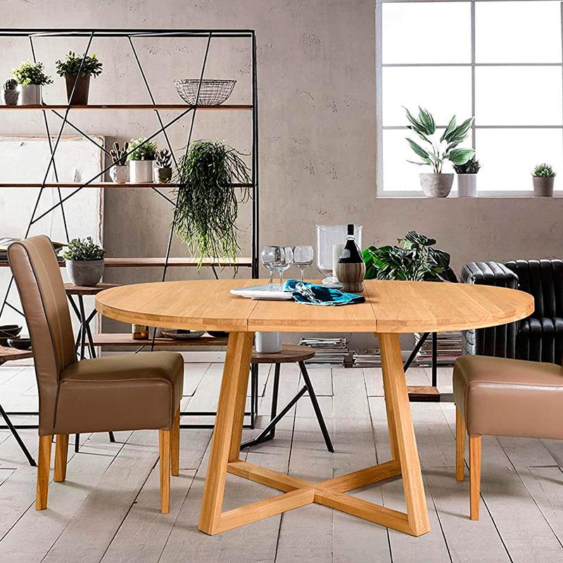 mesas de madera extensibles