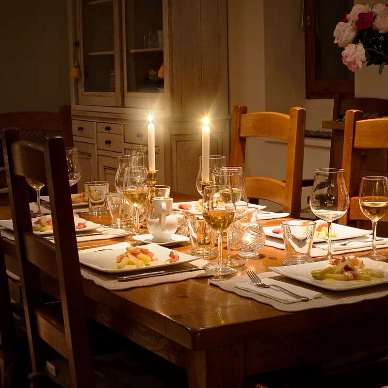 mesa de madera para comedor