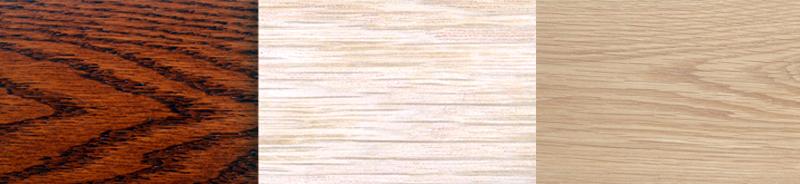 tipos de madera de roble para mesas
