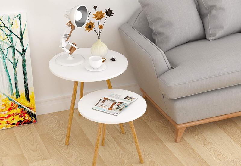 mesas nordicas en madera funcionales
