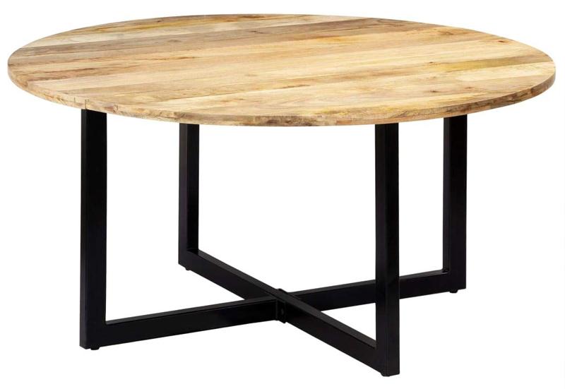 mesa de madera vidaxl en mango