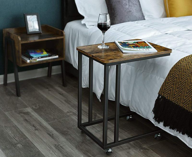 mesas vintage madera acero