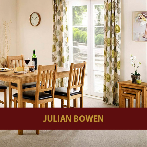 Mesas de madera julian bowen baratas